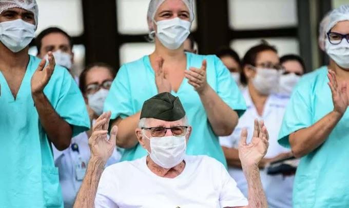Brasil é país com maior número de recuperados da Covid-19 no mundo