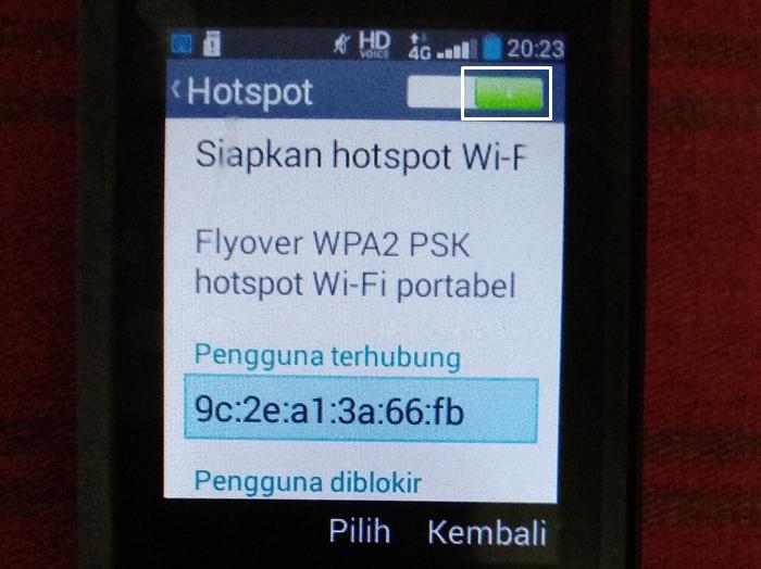 Cara Menjadikan HP Andromax Prime 4G LTE sebagai Perangkat