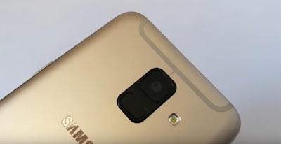 spesifikasi Kamera Samsung Galaxy A6 (2018)