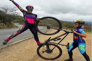 Amigas realizam aventura de bicicleta de Brumado à Vitória da Conquista