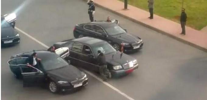 Bloquer le cortège de Mohammed VI mènera dorénavant en prison.