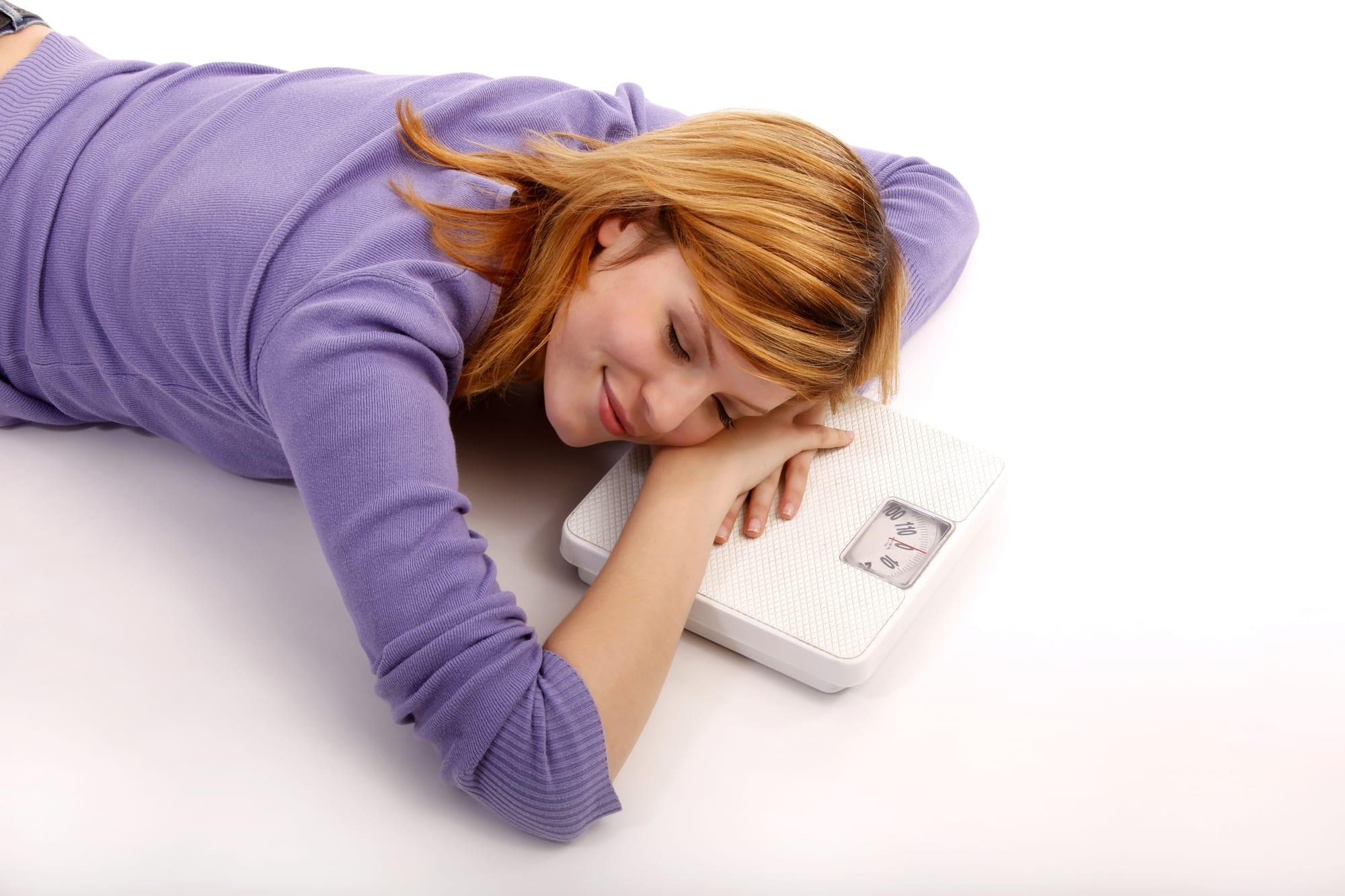 تخسيس الوزن أثناء النوم