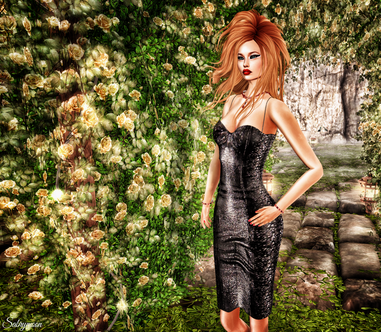 Virtual diva morph couture dress crow and moondance for Diva couture