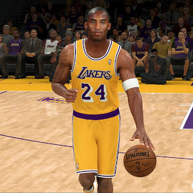 Kobe Bryant Cyberface and Body Model By Tweal [FOR 2K21]