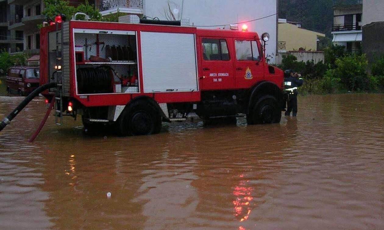 Θράκη: Σε ετοιμότητα η Πυροσβεστική για την κακοκαιρία