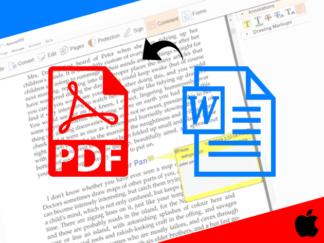 كيفية تحويل ملف وورد الى PDF على الموبايل ايفون وأيباد