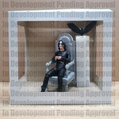 San Diego Comic-Con 2021 Exclusive The Crow Deluxe Action Figure Box Set by Diamond Select Toys