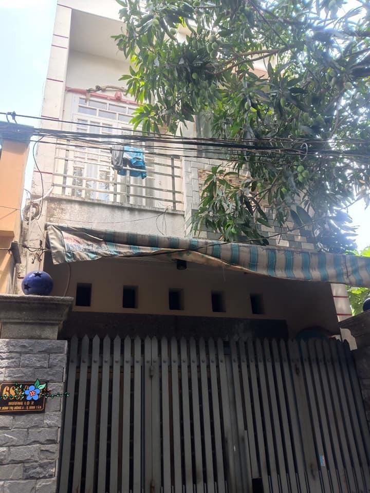 Bán nhà hẻm 689 Hương Lộ 2 phường Bình Trị Đông A quận Bình Tân. Dt 4x13m