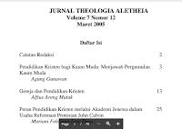 Contoh Jurnal Theologia Aletheia PDF Download