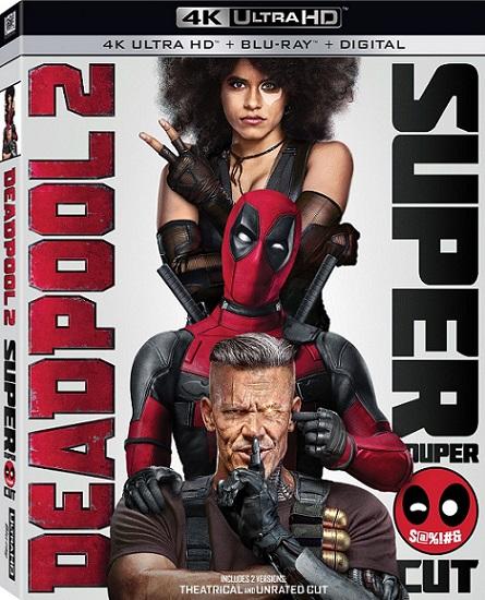 Deadpool 2: The Super Duper Cut UNRATED 4K (2018) 2160p 4K UltraHD HDR BluRay REMUX 55GB mkv Dual Audio Dolby TrueHD ATMOS 7.1 ch
