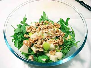 insalata gorgonzola noci e pere