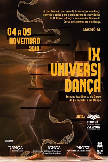 Evento promovido por alunos de dança da Ufal fará parte da 9ª Bienal