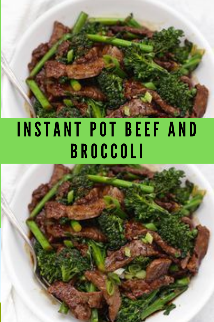 Pressure Cooker Beef and Broccoli Recipe