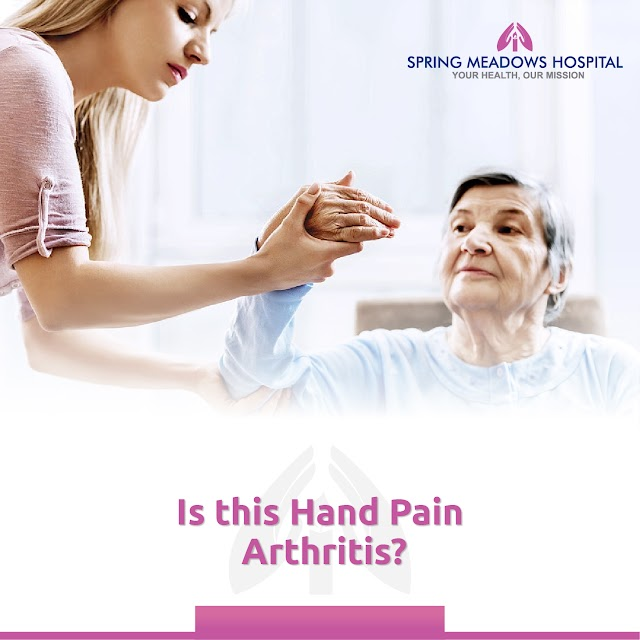 Is this Hand Pain Arthritis?