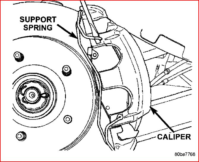 front brake pads replacement with pictures for 1999,2000