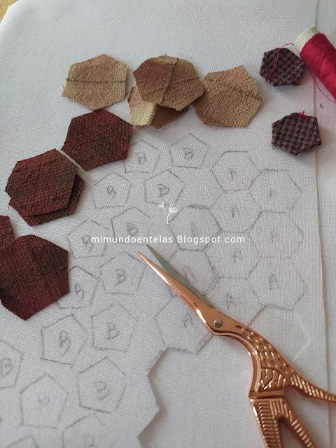 tutorial patchwork japones hacer un  llavero-monedero