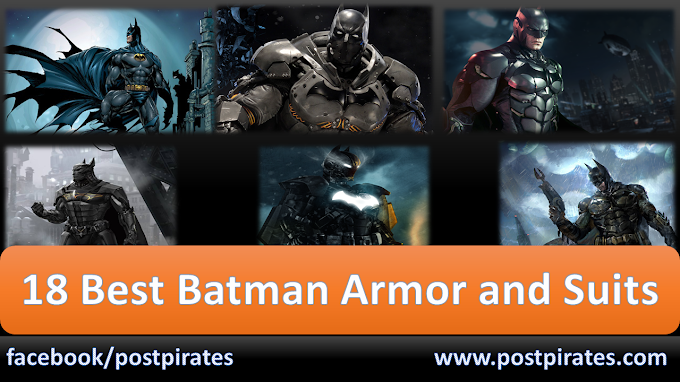 18 Most Powerful Batman Suits and Armors !