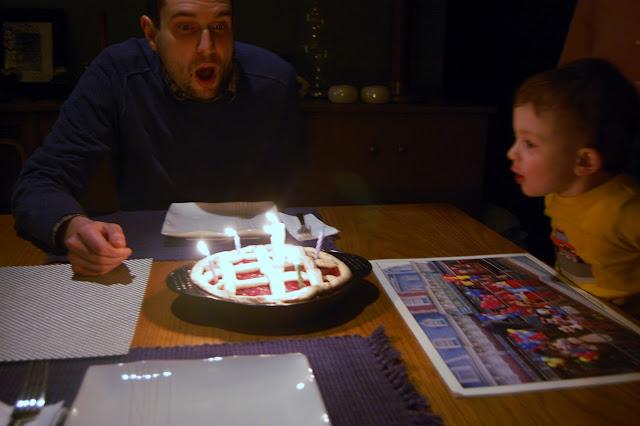 Lattice Birthday Cake