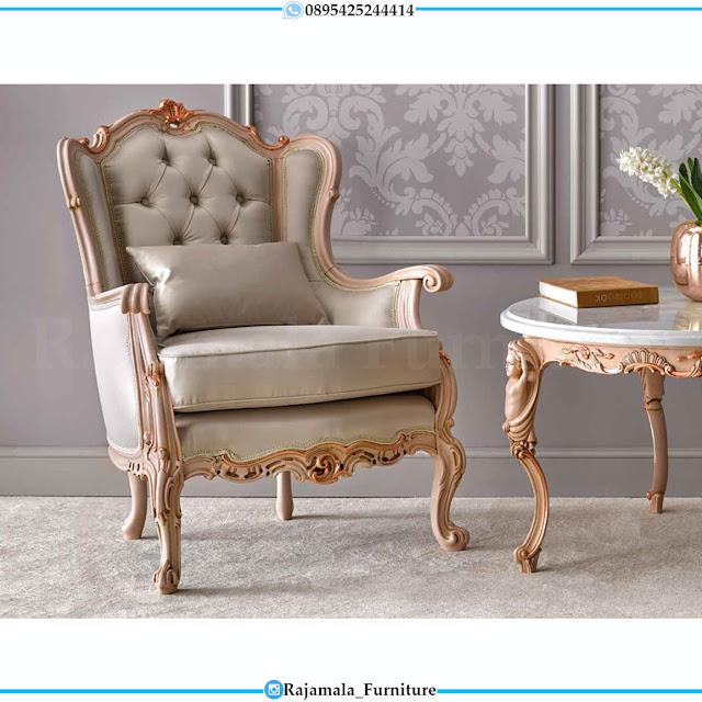 Coffee Table Set Kursi Sofa Teras Mewah Ukir Jepara Luxury Style RM-0533