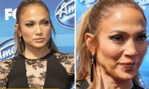 Jlo sin photoshop en american idol