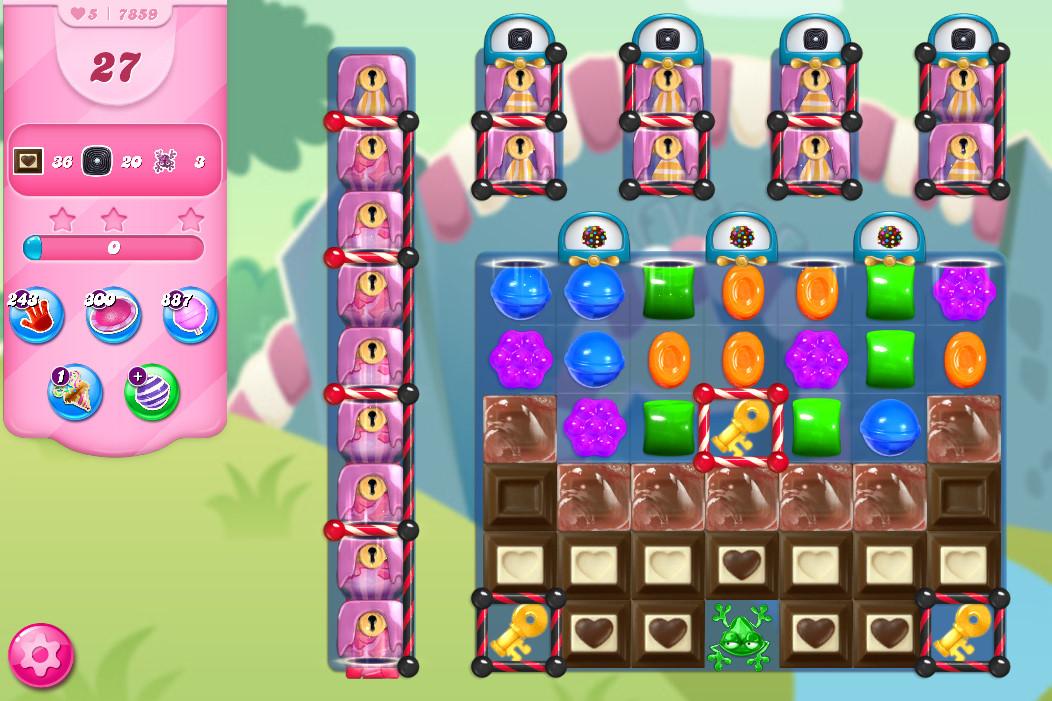 Candy Crush Saga level 7859