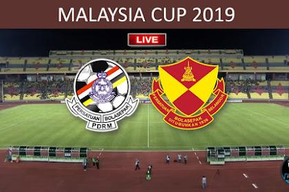 Live Streaming PDRM Vs Selangor Malaysia Cup 2019