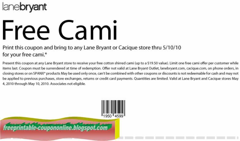 Lane bryant catalog online coupons