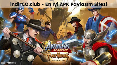 marvel avengers academy hile apk