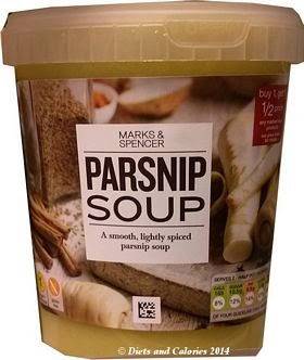 Marks & Spencer Parsnip Soup
