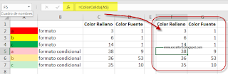 VBA: Recuperar el color con DisplayFormat