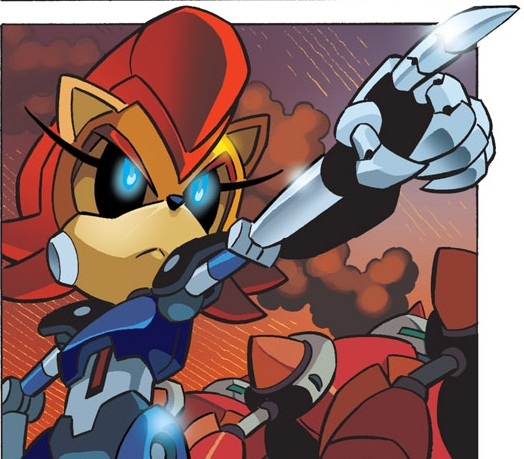 Sonic the Hedgehog Comic Character Checklist: Mecha Sally