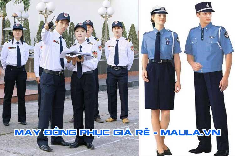 Đồng phục bảo vệ tạo ấn tượng cho công ty