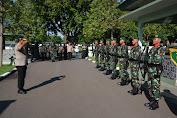 Kapolda NTB Irjen Pol Nana Sudjana Pamitan Ke Danrem 162/WB