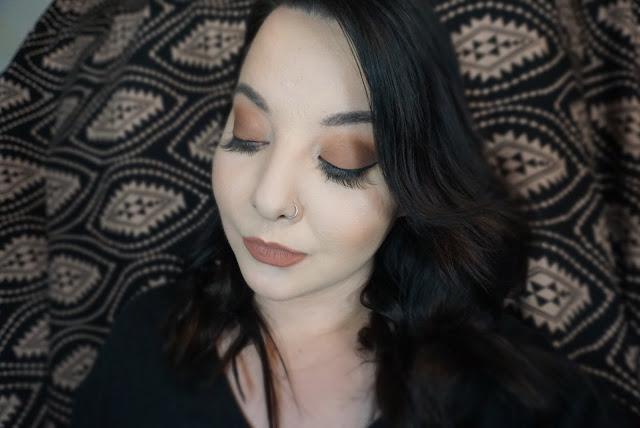 Makeup Monday: Burnt Red-Orange Smokey Eye