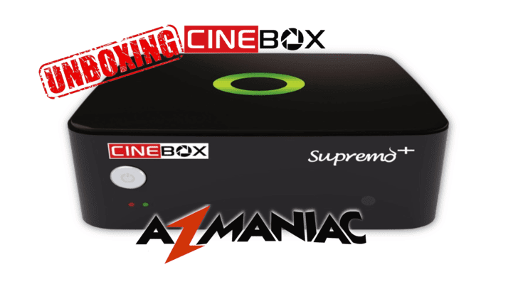 Cinebox Supremo+ Plus ACM Vídeo Unboxing