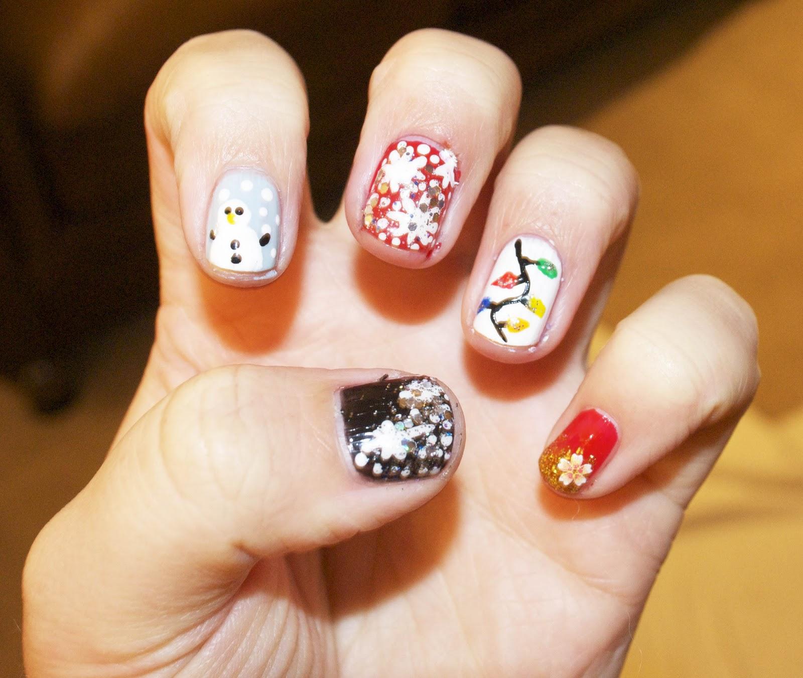 Christmas Designs For Your Nails: Christmas Nail Art Designs