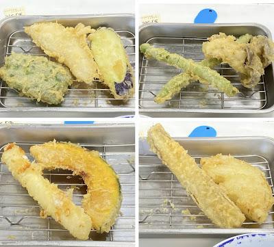 天ぷらひらお,野菜定食