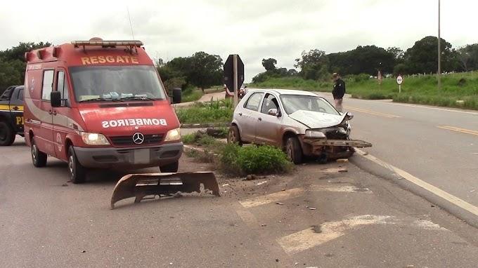 Atualizado: Tragédia: Motorista de Cacoal morre preso nas ferragens de carreta após acidente no trevo da BR 364 que dá acesso a Rolim de Moura
