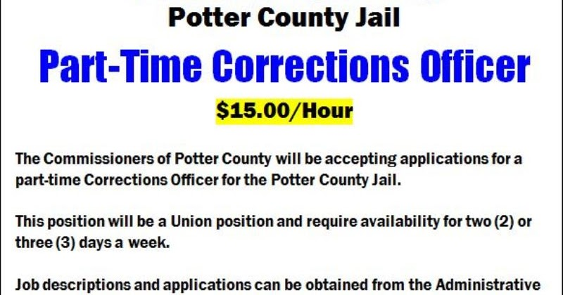 Solomon's words for the wise: Part-Time Corrections Officer