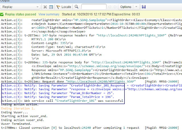 Web Services Scripting using Loadrunner