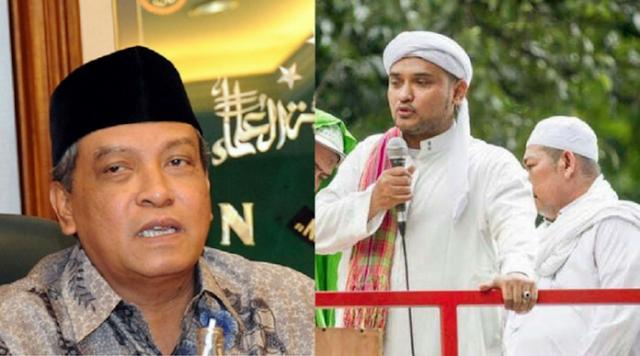 Sebut Cadar Budaya Arab, Sekjen FPI Bungkap Said Aqil Siradj