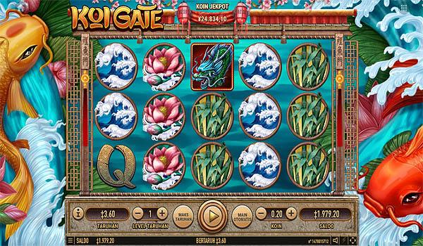 Main Gratis Slot Indonesia - Koi Gate Habanero