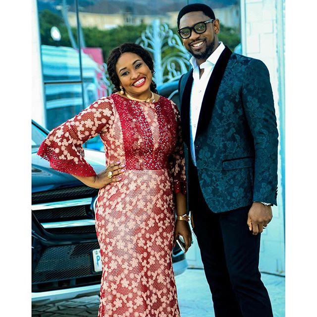 Image result for biodun fatoyinbo and wife