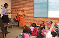 Amharic storytime at Silver Spring