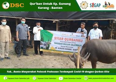 Syiar Qurbanku di Gunung Karang