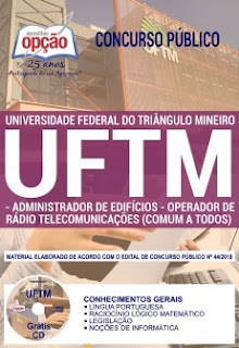 Baixar Apostila Concurso UFTM 2018 PDF Download
