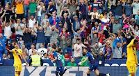 برشلونة يسقط خارج ملعبه امام فريق ليفانتي بثلاث اهداف لهدف وحيد في الدوري الاسباني