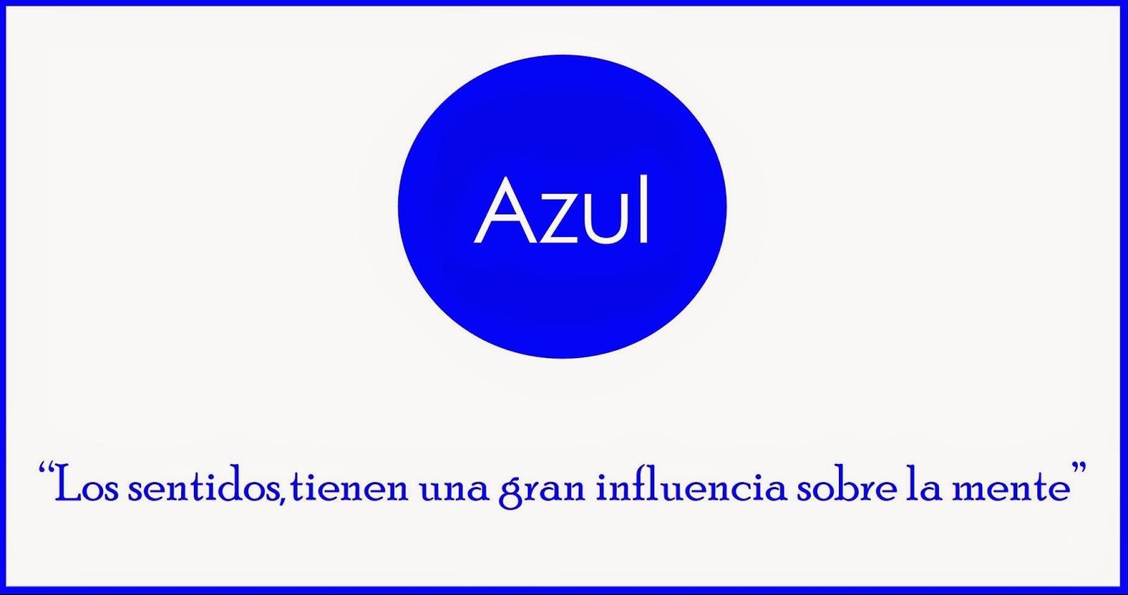 ¿Por qué el AZUL, en nuestro logotipo?