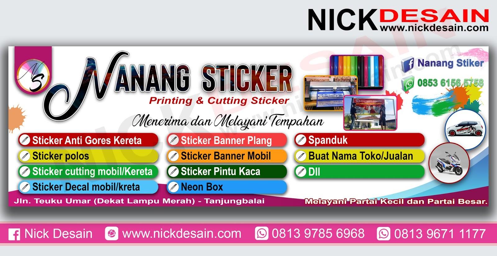 Contoh Desain Banner Percetakan Percetakan Tanjungbalai Percetakan Tanjungbalai Desain Online Logo Banner Spanduk