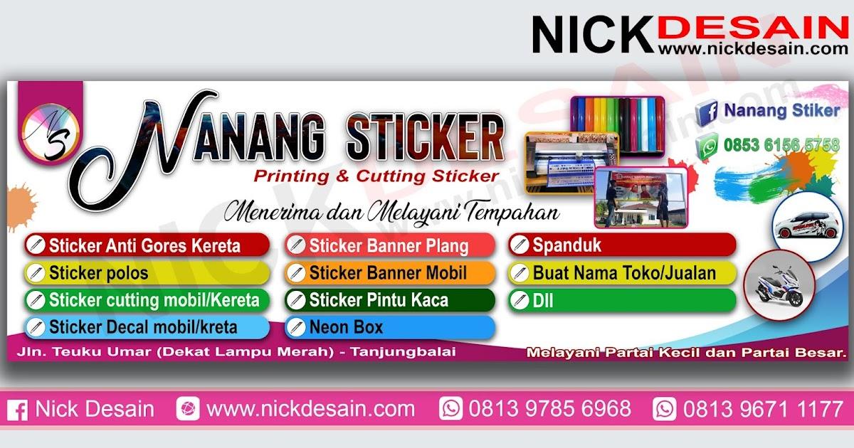Contoh Desain Banner Percetakan - Percetakan Tanjungbalai ...